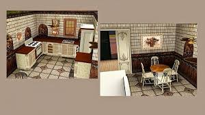 COPPER KITCHEN Decor Set By Alelore For Sims 3
