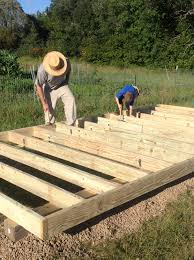 Floor Joist Spacing Shed by Building A Garden Shed U2013 Part 1 Traditional Skills David Sims