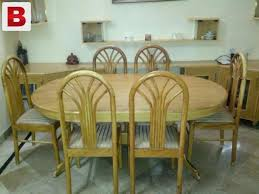 Pictures Of Strong Wooden Sheesham Dining Table 6 Seater