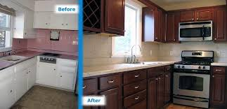 Image Of Doing Kitchen Remodel Before And After