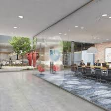 100 Architectural Design Office How To Large Space Walkthrough Animation By Yantram