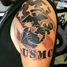 25 Cool USMC Tattoos Meaning Policy And Designs