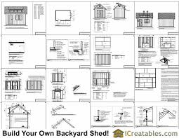 10x14 Garden Shed Plans by 10x14 Shed Plans With Dormer Icreatables Com