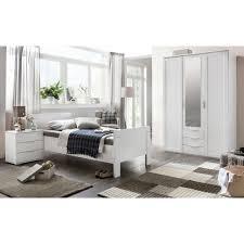 schlafzimmer set nadja kleiderschrank mit spiegel bett und