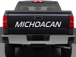100 Truck Tailgate Decals Michoacan Mexico Decal Sticker For Chevy Etsy