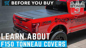 100 F 150 Truck Bed Cover Before You Buy Tonneau S Explained YouTube