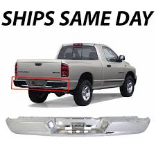 NEW Chrome Steel Rear Bumper Face Bar For 2002-2009 Dodge Ram 1500 ... 201517 Ford F150 Heavy Duty Full Guard Winch Bumper New Front Gator Covers Enforcer Mesh Skins 2017 Raptor Rogue Racing Dt Roundup To Diesel Tech Magazine Br5 Replacement From Go Rhino Custom Trucks Pickup Truck Bumpers Defender Alinum And Discount Fusion 31996 Fordf150 Dakota Hills Accsories Gmc Frontier Gear Width Hd With Brush Toyota Recalls 79000 Pickups Steps In Bumper Could Break Q13 Fox Amazoncom Mbi Auto New Complete Chrome Rear Step Assembly