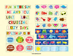 ALEX Little Hands Crafts For Toddlers Summer Printable