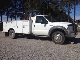 100 2005 Ford Trucks F450 XL Single Axle Mechanic Service Truck Powerstroke