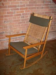 100 Woven Cane Rocking Chairs The Fabulous Find Mid Century Modern Furniture Showroom In