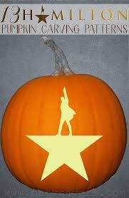 Walking Dead Pumpkin Stencils Free Printable by 13 Hamilton Pumpkin Carving Patterns And Printable Stencils