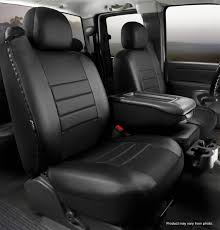 100 Custom Seat Covers For Trucks LeatherLite Cover Fia SL6816BLKBLK Titan Truck