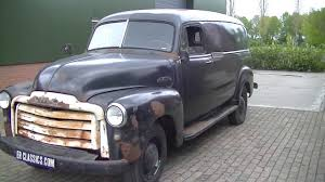 GMC Panel Delivery Van Hanley 1952 Restorationproject - Www ...