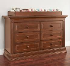 Baby Changing Dresser With Hutch by Baby Cache Montana 6 Drawer Dresser Brown Sugar Babies