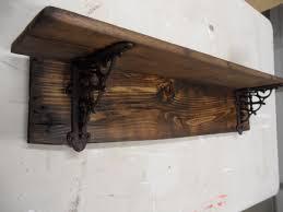 Home Depot Decorative Shelves by Farmhouse Shelf Brackets Wooden Rustic Barnwood Style Primitive