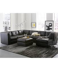 Chateau Dax Leather Sofa Macys by Fabrina Leather Modular Collection Created For Macy U0027s Furniture