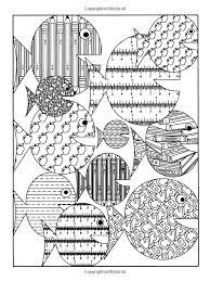 Undersea Designs To Color Dover Nature Coloring Book