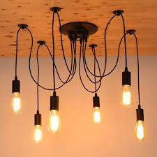 chandelier led chandelier lighting edison bulb hanging light