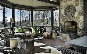 Luxury Rustic Interiors Blue Ridge Mountains Home 9