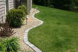 Landscape Edging Ideas With Bricks Flower Bed Borders Garden For