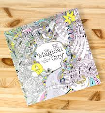 How Lizzie Cullen Created An Urban Themed Colouring In Book For