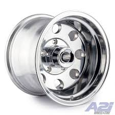 100 16 Truck Wheels A2I American Racing AR172 Baja Polished Wheel X8 8x65 0mm 8