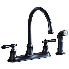 Moen Anabelle Kitchen Faucet Bronze by Shop Moen Anabelle Mediterranean Bronze Handle Deck Mount Pull