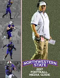 Upper Deck Cougars Tryouts by 2017 Northwestern State Football Media Guide By Northwestern State
