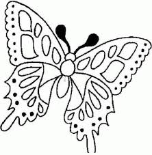 Online Coloring Pages For Toddlers 10 Butterfly Free