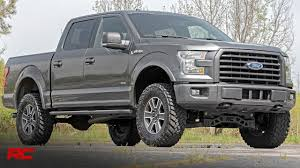 2015-2018 Ford F-150 4-inch Suspension Lift Kit By Rough Country ...