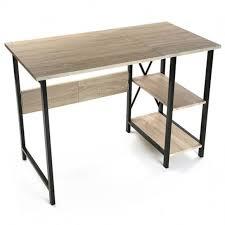 bureau industriel metal bois bureau style industriel achat bureau style industriel pas cher