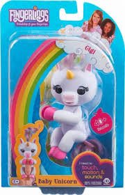 WowWee Fingerlings Baby Unicorn Gigi White 3708