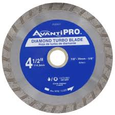 Rigid 7 Tile Saw Blade by Avanti Pro 4 1 2 In Turbo Diamond Blade Hd T45s8 The Home Depot