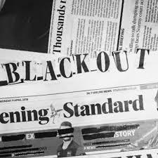 Blackout Hate On Twitter BLACKOUTEVENINGSTANDARD The First Word