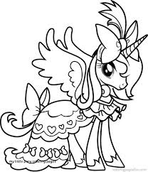 My Little Pony Coloring Pages Unicorn