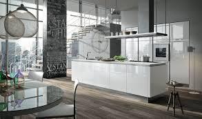 aran küche bijou glas weiß hochglanz