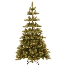 Nordic Fir Artificial Christmas Tree 6ft by 1 Ul Listed Pre Lit Christmas Trees Artificial Christmas Trees