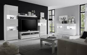 wohnzimmer weiss hochglanz weiss woody 16 00446 mdf modern