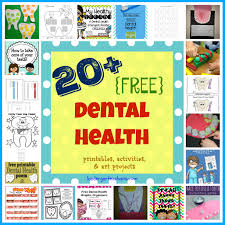 20 Free Dental Health Printables Activities Art Projects For The Classroom