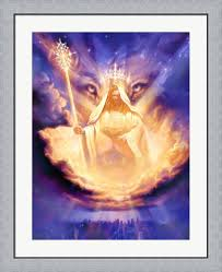 100 Christian Lassen Prints Lion Of Judah By Jeff Haynie Framed Art Print Wall Picture Flat Silver Frame 30 X 36 Inches