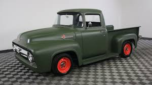 1956 FORD F100 GREEN - YouTube