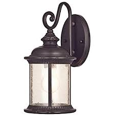 bellagio 16 1 2 high arm led outdoor light