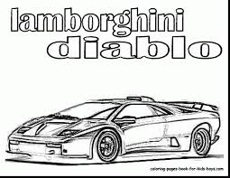 Magnificent Lamborghini Coloring Pages Printable With And Veneno