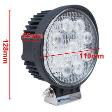 Amazon.com: TMH 27w Round Shape 60 Degree LED Work Light Flood Beam ... Safego 2pcs 4inch Offroad Led Light Bar 18w Led Work Lamp Spot Flood 2x 6inch 18w Flush Mount Lights Off Road Fog 40 Inch 200w Spotflood Combo 15800 Lumens Cree Sucool One Pack 4 Inch Square 48w 2014 Supercharged Black Jeep Wrangler Unlimited Sport With 52 500w Alinum For Truck 5 72w Roof Driving Vehicle Best Lovely 18 With Lite Ingrated Mount 81711 Trucklite 6x Light Bar Work Flood Offroad Ford Atv Decked Out Bugout Recoil Offgrid Eseries 30 Surface White Black Rigid Industries