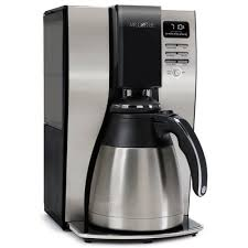 Mr Coffee BVMC PSTX91 Optimal Brew 10 Cup Thermal Coffeemaker Black Stainless Steel