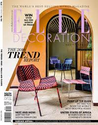 Decor Magazines South Africa by Gwen And Gawie Fagan For Elle Decoration South Africa No 106
