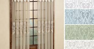 Battenburg Lace Curtains Ecru by Insight Curtain Drapes Tags Sheer Brown Curtains Lace Tier