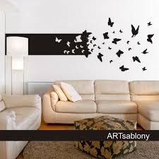 pochoir mural chambre pochoirs muraux a peindre pochoir peinture murale deco 8 chambre