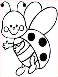 Coloring Pages Frog Butterfly And Flower With Ladybug