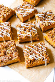 Pumpkin Pie With Pecan Streusel Topping by Pumpkin Streusel Bars Sallys Baking Addiction